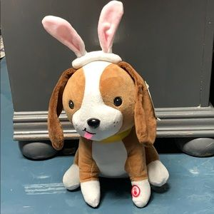 """""""Whoomp! There it is"""" Hallmark Plush Dog NWT"""